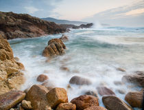 Galician coast Stock Images