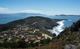 Galician coastline Stock Image
