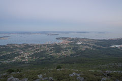 Galician estuary. Stock Photography