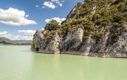 Galician lake Royalty Free Stock Image