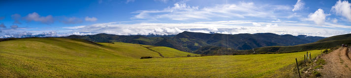 Galician landspe. Galician landscape, os ancares, lugo Stock Image