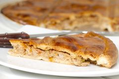 Galician pie Stock Photography