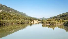 Galician river Stock Image