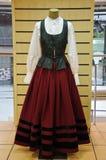 Galicisch nationaal kostuum Royalty-vrije Stock Fotografie