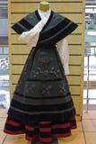 Galicisch nationaal kostuum Stock Afbeeldingen