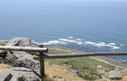Galicische kustlijn Stock Foto