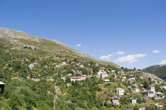Galicnik wioska, park narodowy Mavrovo Fotografia Royalty Free