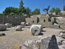 Galikarnass mausoleum Royalty Free Stock Photos