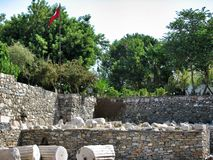 Galikarnass mausoleum Stock Image