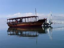 galile israel hav Arkivbild