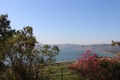 Galilea θάλασσα Στοκ εικόνα με δικαίωμα ελεύθερης χρήσης