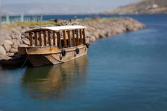 Galilean boat Stock Photo