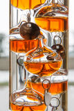 The Galilean thermometer Royalty Free Stock Photography
