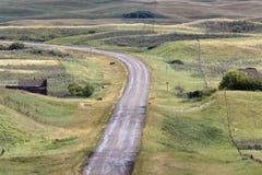 galilee ducha Saskatchewan miasteczko Zdjęcia Stock