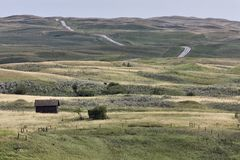 galilee ducha Saskatchewan miasteczko fotografia royalty free