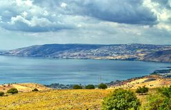 galilee royaltyfria bilder