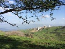 Galilee från Tiberias royaltyfria foton