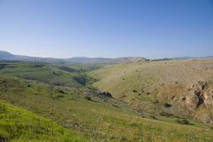 Galilee hills Royalty Free Stock Image