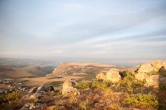 Galilee krajobraz Fotografia Royalty Free