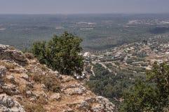 Galilee krajobraz Zdjęcia Royalty Free