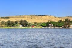 Galilee Lake of Gennesaret Royalty Free Stock Image