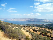 Galilee Lake Kinneret October 2010 Royalty Free Stock Photos