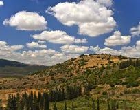 Galilee landscape Stock Image
