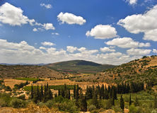 Galilee landscape Royalty Free Stock Photos