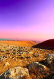 Galilee Mountains Stock Photography