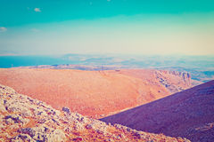 Galilee Mountains Royalty Free Stock Photo