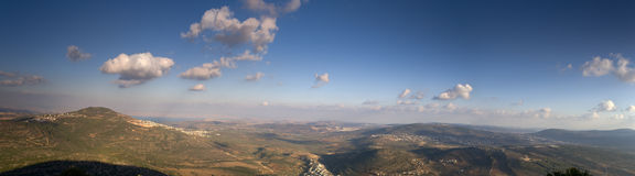 Galilee panorama Royalty Free Stock Photos