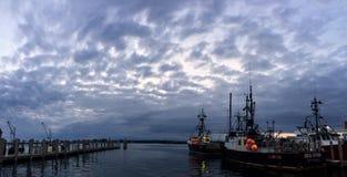 Galilee punkt Judith, Narragansett, RI Arkivbilder