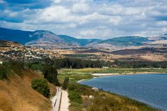 Galilee view Royalty Free Stock Photo