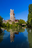 Galileo Astronomical Observatory La Specola Tower in Padova Ital royalty free stock photography