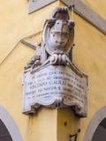 Galileo byggnad i det historiska området av Pisa Arkivfoto