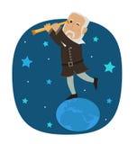 Galileo Galilei Imagens de Stock Royalty Free