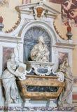 Galileo Galilei i Santa Croce, Florence arkivfoton