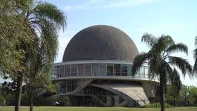 Galileo Galilei Planetarium. Planetario Galileo Galilei in Argentina stock footage