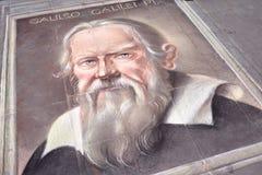 Galileo Galilei Portrait royalty-vrije stock afbeeldingen