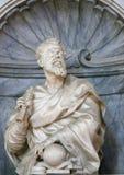 Galileo Galilei in Santa Croce, Florence stock foto