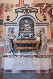 Galileo Galilei Tomb Basilica of Santa Croce - Florence Stock Photography
