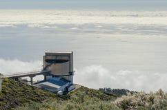 Galileo National Telescope, Roque de los Muchachos in La Palma. Royalty Free Stock Photography