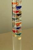 Galileo termometer arkivfoto