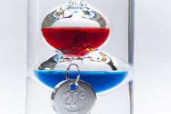 Galileo thermometer Stock Photography