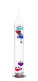 Galileo-Thermometer Lizenzfreies Stockbild
