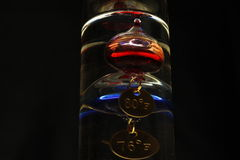 Galileo-Thermometer Stockbild