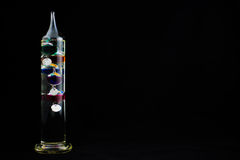 Galileo Thermometer. Stock Image