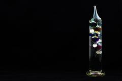 Galileo Thermometer. Royalty Free Stock Photos