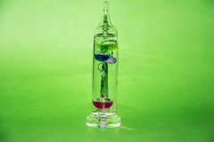 Galileo Thermometer stock photo
