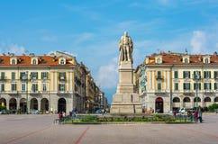 Galimberti Square. Cuneo, Piedmont, Italy Stock Image